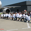 Plane Pull : Charity Event at Dulles Int'l Airport in support of the Special Olympics
